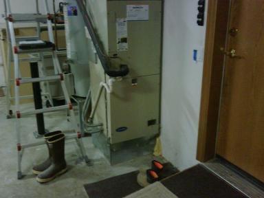 Existing Carrier Air Handler