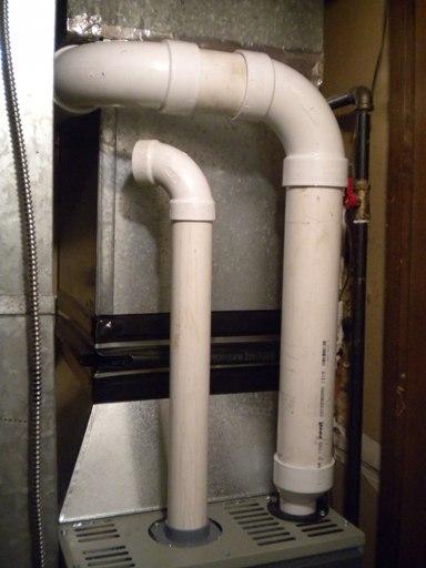 New PVC Venting