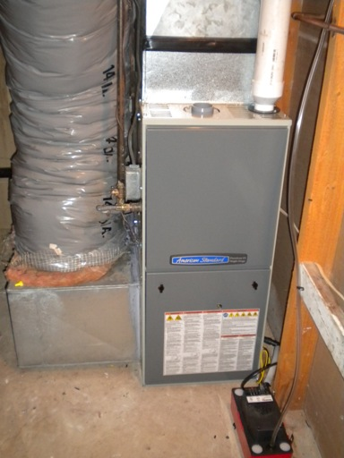 american standard gas furnace manual