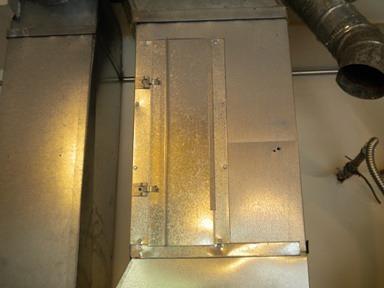 Filter Access Door.