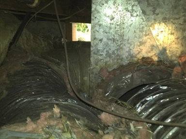 Damaged Ducting