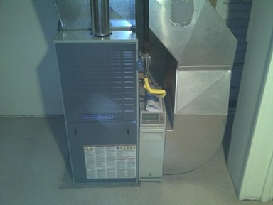 New American Standard 80% Gas Furnace