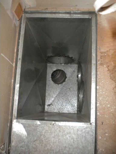 Existing Supply Plenum