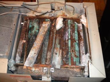 Laars Lite corrosion