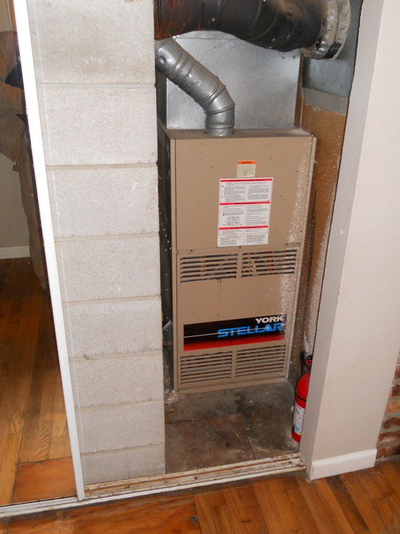 Existing York 80% Furnace