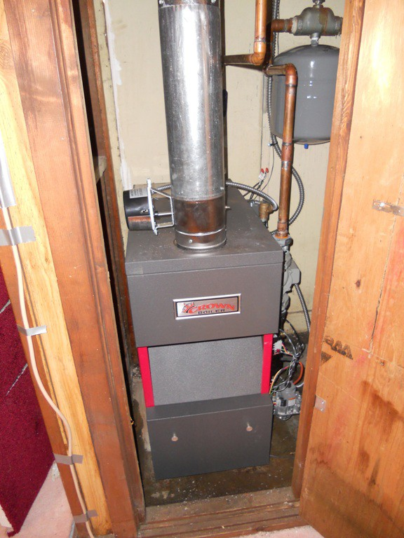 New Crown Aruba3 80% boiler
