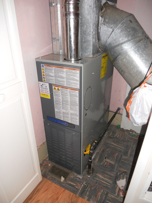 New American Standard 80% Gas Furnace.