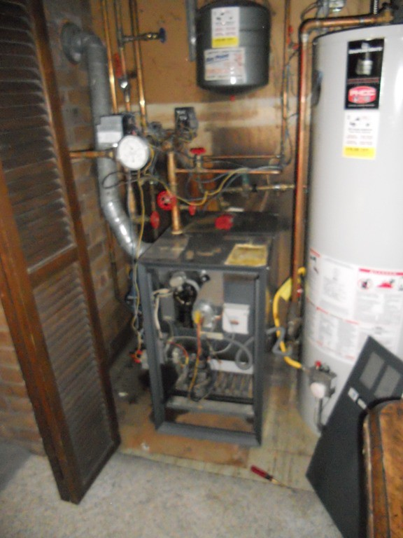 Existing Weil Mclain boiler