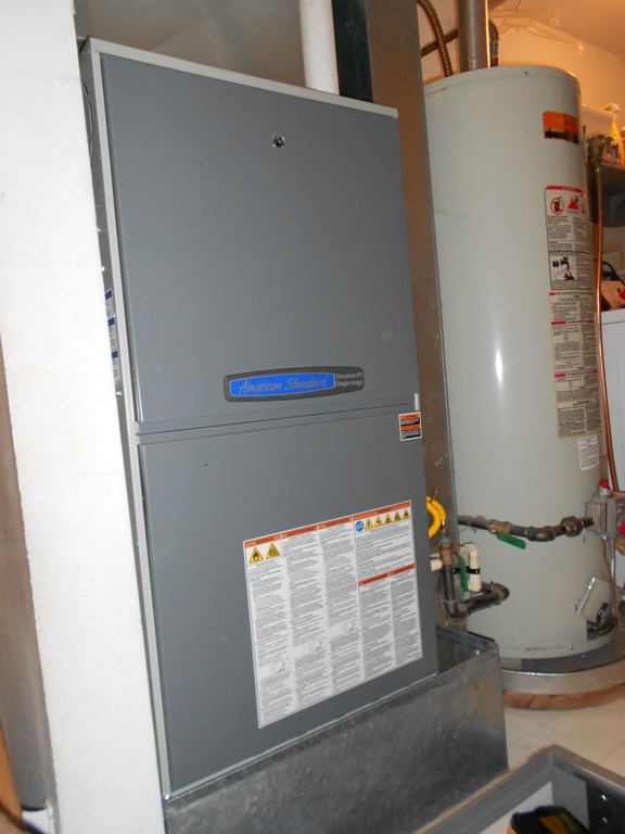 95% single stage gas furnace.