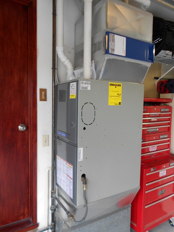 New American Standard 95% 2 stage variable speed furnace.