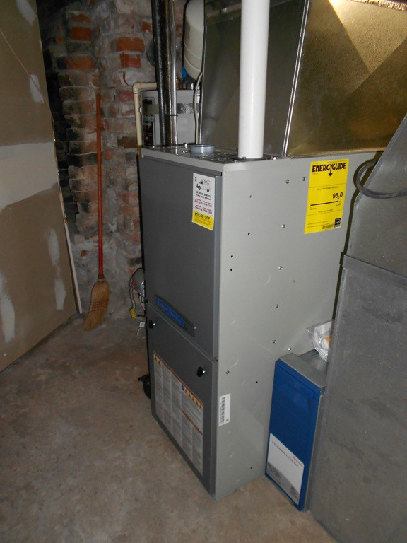 American Standard fully modulating 95% gas furnace.