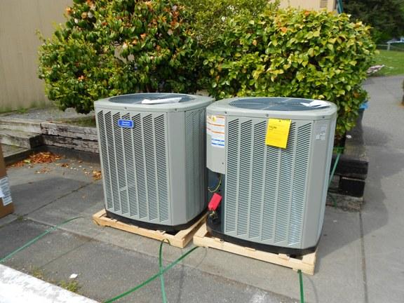 New American Standard dry R22 AC Units