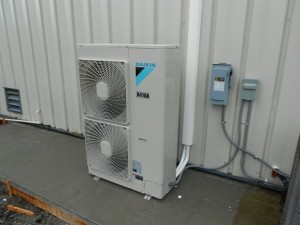 New Commercial Daikin Ductless Unit