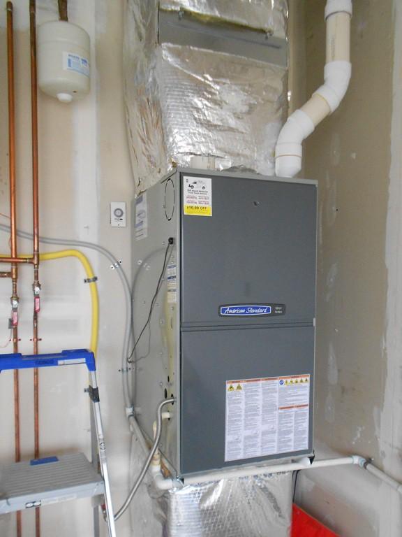 95% American Standard Gas furnace.