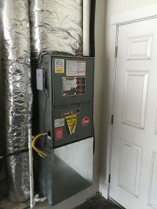 Existing Rheem 90% Gas Furnace