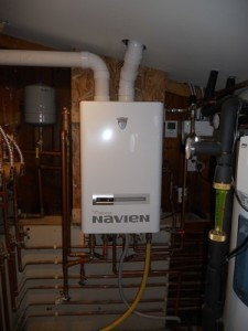 Navien Combi Tankless Water Heater