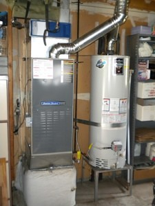 New American Standard furnace 80% and Bradford White 50 gal