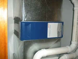 Honeywell 4 Filter Installed