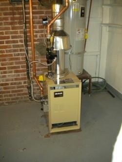 New Weil McLAIN boiler
