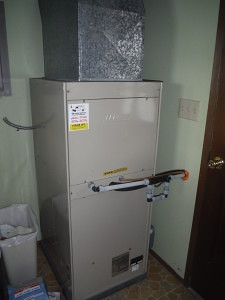 Lennox mix matched heat pump