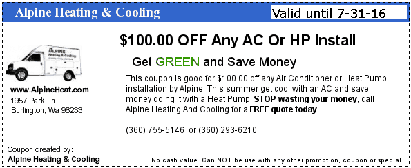$100 OFF AC COUPON
